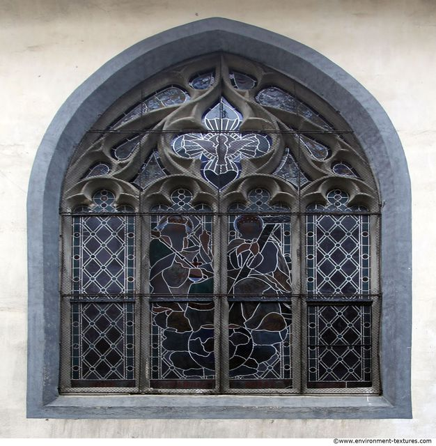 Ornate Windows Stained Windows