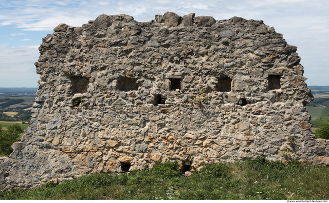 Damaged Walls Stones