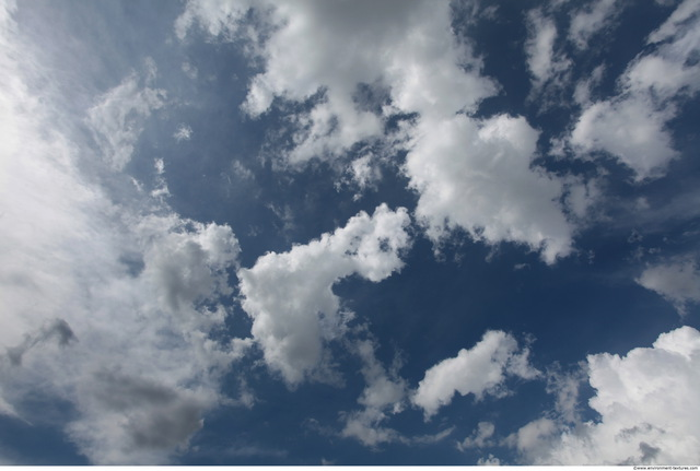 Blue Clouded Sky