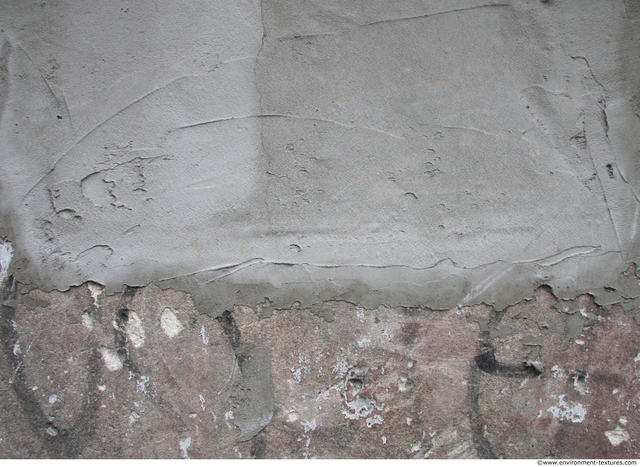 Wall Plaster Bare