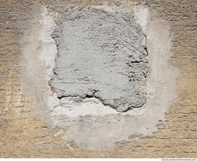 Wall Plaster Patched