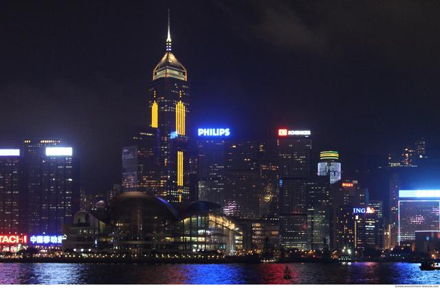 Background Night Cities