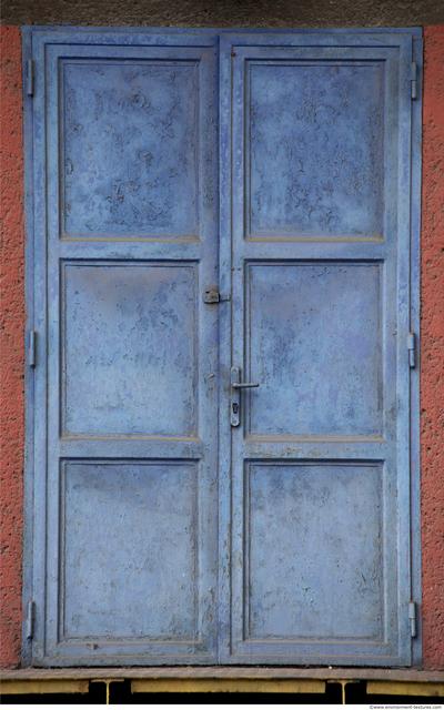 Double Metal Doors