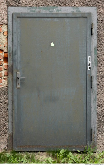 Double Metal Doors