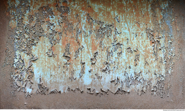 Peeling Paint Metal