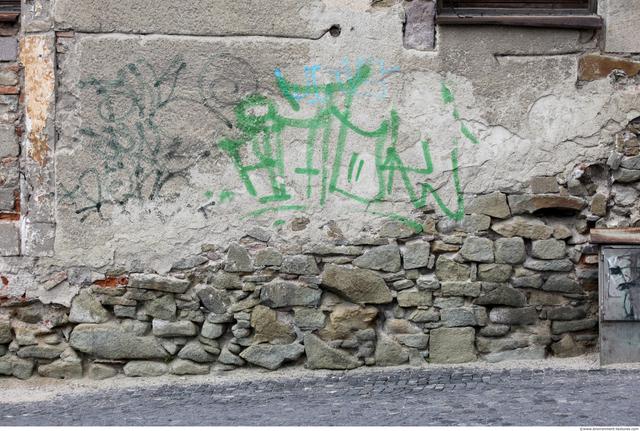 Plastered Walls Stones