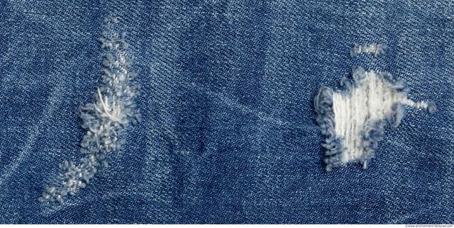 Damaged Fabric