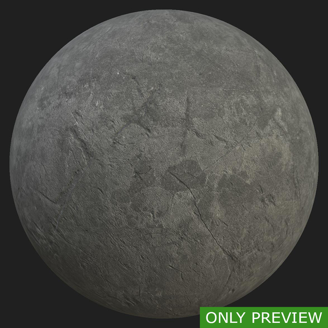 PBR substance preview ground stone