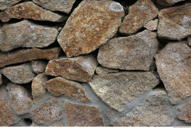 Mixed Size Walls Stones