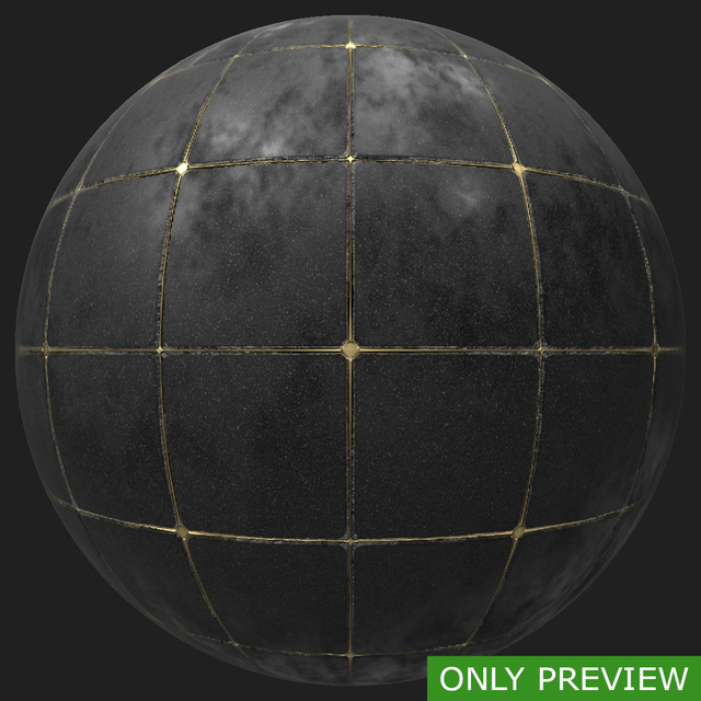 PBR substance material of tiles floor created in substance designer for graphic designers and game developers