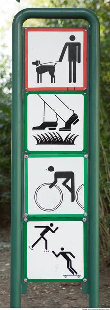 Pedestrians Traffic Signs