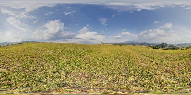 Panorama HDR ° background nature