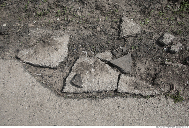 Damaged Asphalt
