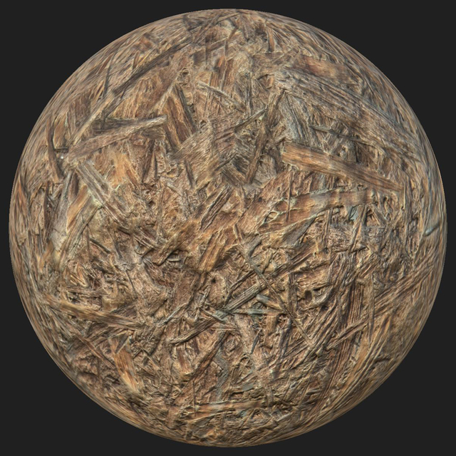 PBR texture plywood