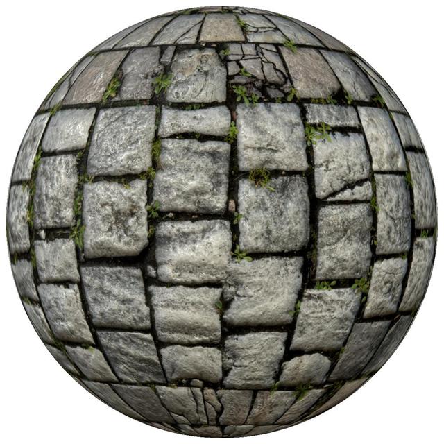 PBR texture tile floor