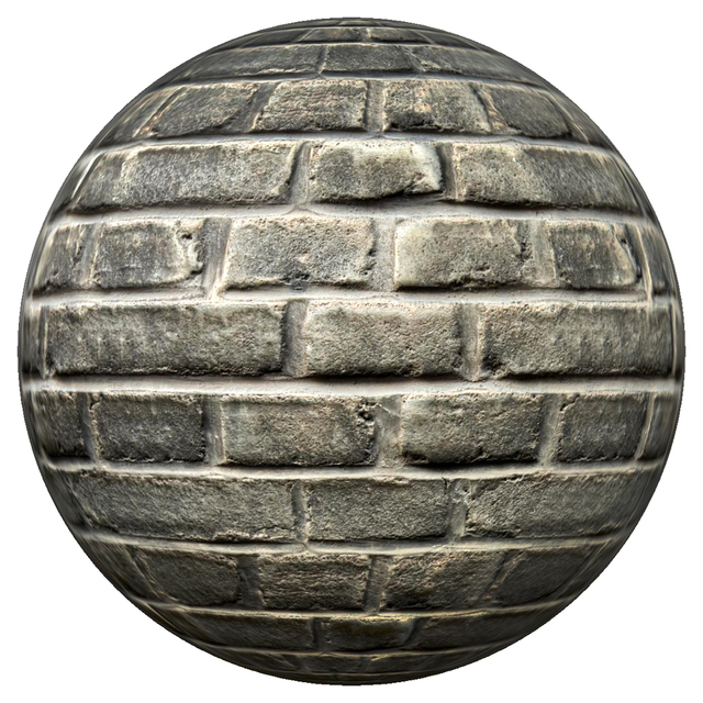 PBR texture wall bricks