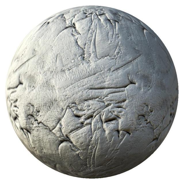 PBR texture gypsum