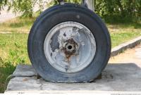 Photo Texture of Wheel Aeroplane