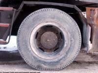 Photo Texture of Excavator Wheel