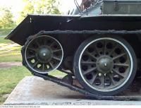 Photo Texture of Tank Wheels