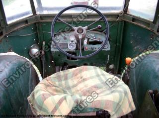 Photo References of Tractor Interior