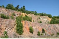 cliff overgrown