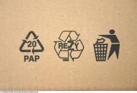 cardboard print