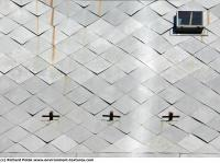 photo texture of roof metal
