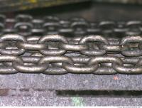 Photo Texture of Metal Chain