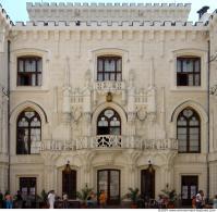 Photo Texture of Building Castle