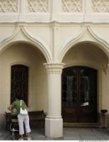 Photo Texture of Pillar Ornate