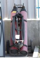 Photo Texture of Gas Bottles