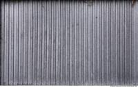 Photo Texture of Metal Corrugated Plate Galvanized
