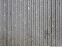 Photo Texture of Metal Corrugated Plates Dirty