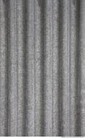 Photo Texture of Metal Corrugated Plates Galvanized