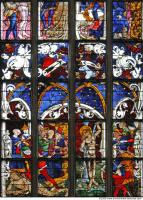 photo texture of stained glass