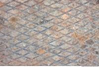 Photo Texture of Metal Floor Rusted