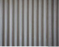 Photo Texture of Metal Corrugated Plates New