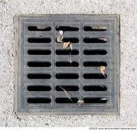 Ground Sewer Grate 0005