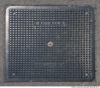 Ground Sewer Grate 0006