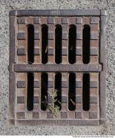 Ground Sewer Grate 0003