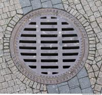 Ground Sewer Grate 0001