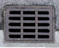 Ground Sewer Grate 0001