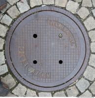 Ground Sewer Grate 0002