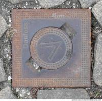 Ground Sewer Grate 0004