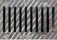 Ground Sewer Grate 0005