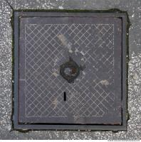 Ground Sewer Grate 0009