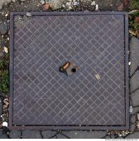 Ground Sewer Grate 0008