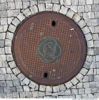 Ground Sewer Grate 0006