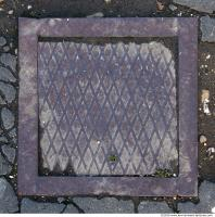 Ground Sewer Grate 0007